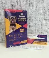 Голден дефенс для собак капли до 4 кг антигельминтик 1 ПИПЕТКА