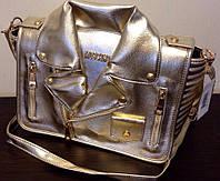 """Moschino женская сумка эко кожа, Турция, типа """"кожаная куртка"""" , фото 1"""