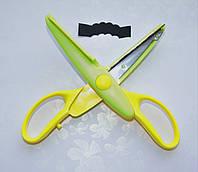 Фигурные ножницы для скрапбукинга N2 1 шт