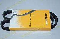 Ремень поликлиновый (ручейковый) генератора Ланос Lanos 1.5 без гидроусилителя Contitech 5PK870\ 96144932