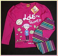Пижама хлопковая Peanuts на 2 и 6 лет
