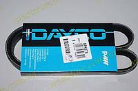 Ремень поликлиновый (ручейковый) генератора Ланос Lanos 1.5 без гидроусилителя Dayco 5PK875\ 96144932