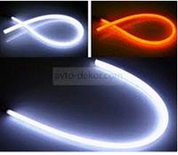 Подсветка в фару 60cm-B (W/Y) Гибкая, с повторителем поворота, фото 1