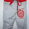 Спортивные штаны Micigan для девочек (2-5лет) трикотажные  Серые, фото 2