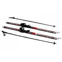 Лыжи беговые регулируемые 120 см