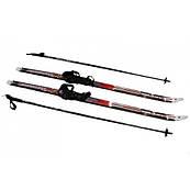 Лыжи беговые регулируемые 140 см