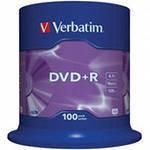 """Диски VERBATIM DVD+R CB""""100"""" 16x"""