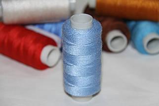 Нитка джинсовая №36 голубая