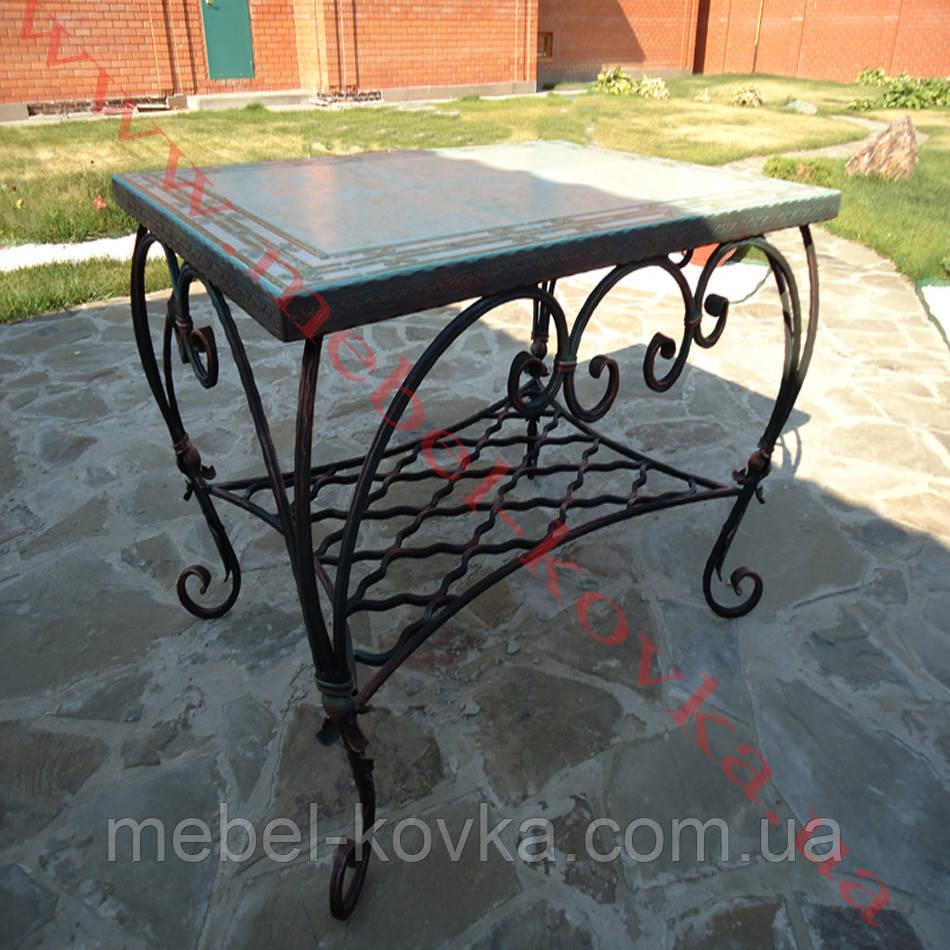 Кованый стол 55