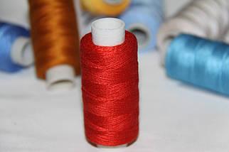 Нитка джинсовая №36 красная