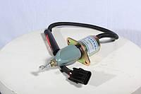 612600180175 электроклапан ТНВД (глушилка) (24V) 3-х контактная WD615 WD-615 (ВД615)
