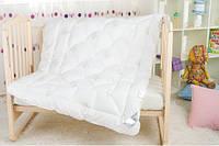 Пуховое детское одеяло ИДЕЯ Лебяжий пух 110*140