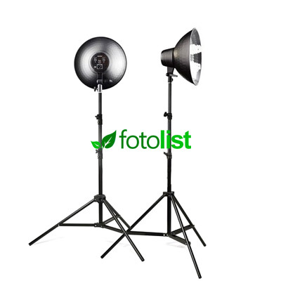 Набор постоянного студийного света Falcon SFL04-2 KIT, 8х28w, 1120 Вт, 5500К