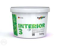 Акриловая краска Kompozit Interior 3 ( 4.2 кг )