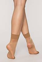 Капроновые  женские носочки телесного цвета