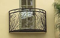 Балкон кованый с узорами