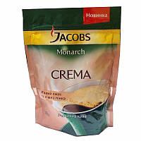 Кофе Якобс Монарх Крема растворимый порошкообразный 38г мягкая упаковка