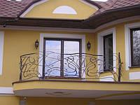 Балконное ограждение бля коттеджа