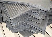 Коврик диэлектрический, ковер диэлектрический 750х750 мм ГОСТ 4997-75