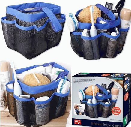 Органайзер для ванной 8-Pocket Shower Caddy, фото 2