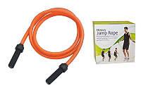 Скоростная скакалка для похудения оранжевая Power