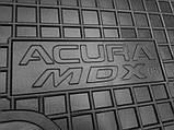 Полиуретановые коврики в салон Acura MDX II 2006-2014 (AVTO-GUMM), фото 2