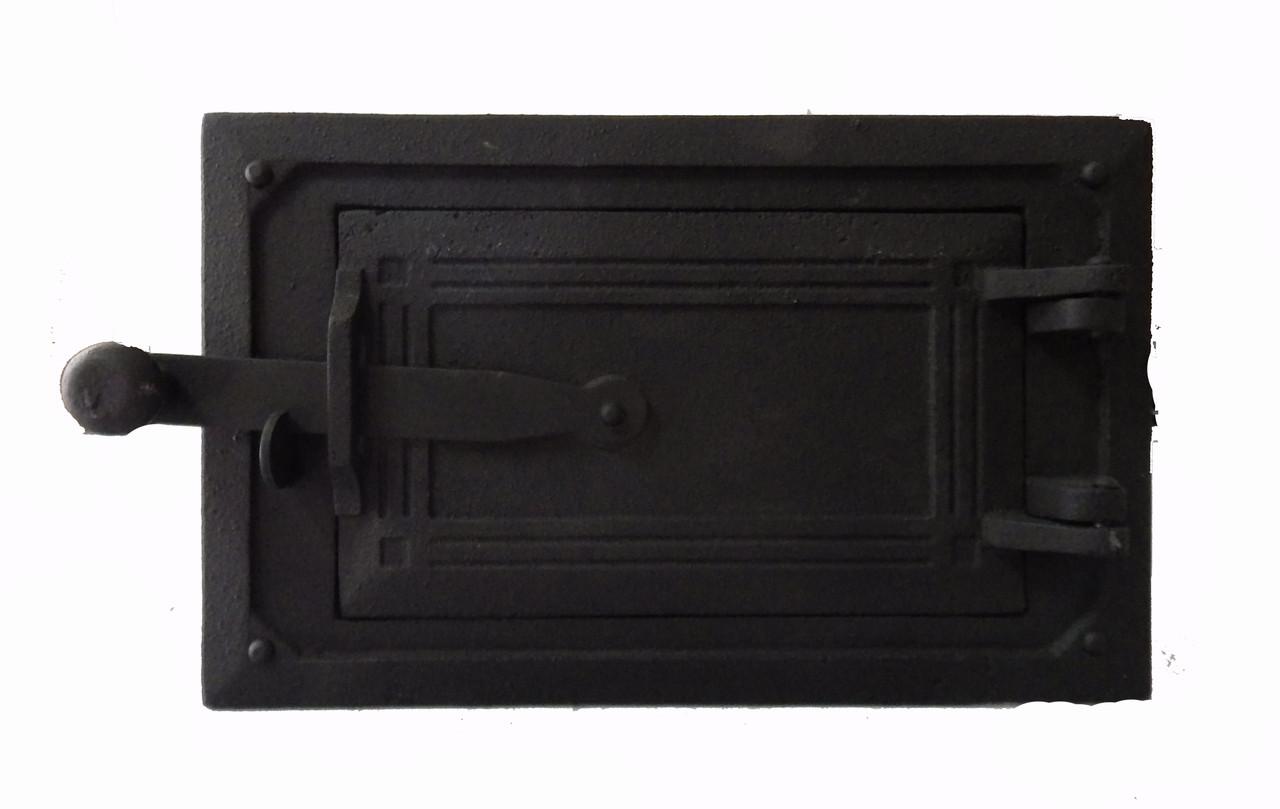 Заслонка для печи чугунная - Dunántúl 28х17.5 см / 20х12 см