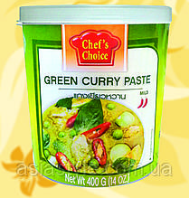 Карі паста зелена , CHEF'S CHOICE, 400 гр, Gf