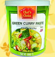 Паста Карри Зеленая , CHEF'S CHOICE, 1 кг, Gf