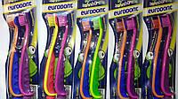 Зубная щетка для детей  Eurodont for kids 2 шт