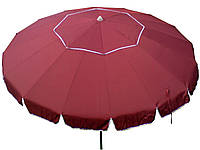 Зонт 3,5 м бордовый 16 спиц, фото 1