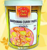 Паста Карри Массаман , CHEF'S CHOICE, 1 кг, Gf