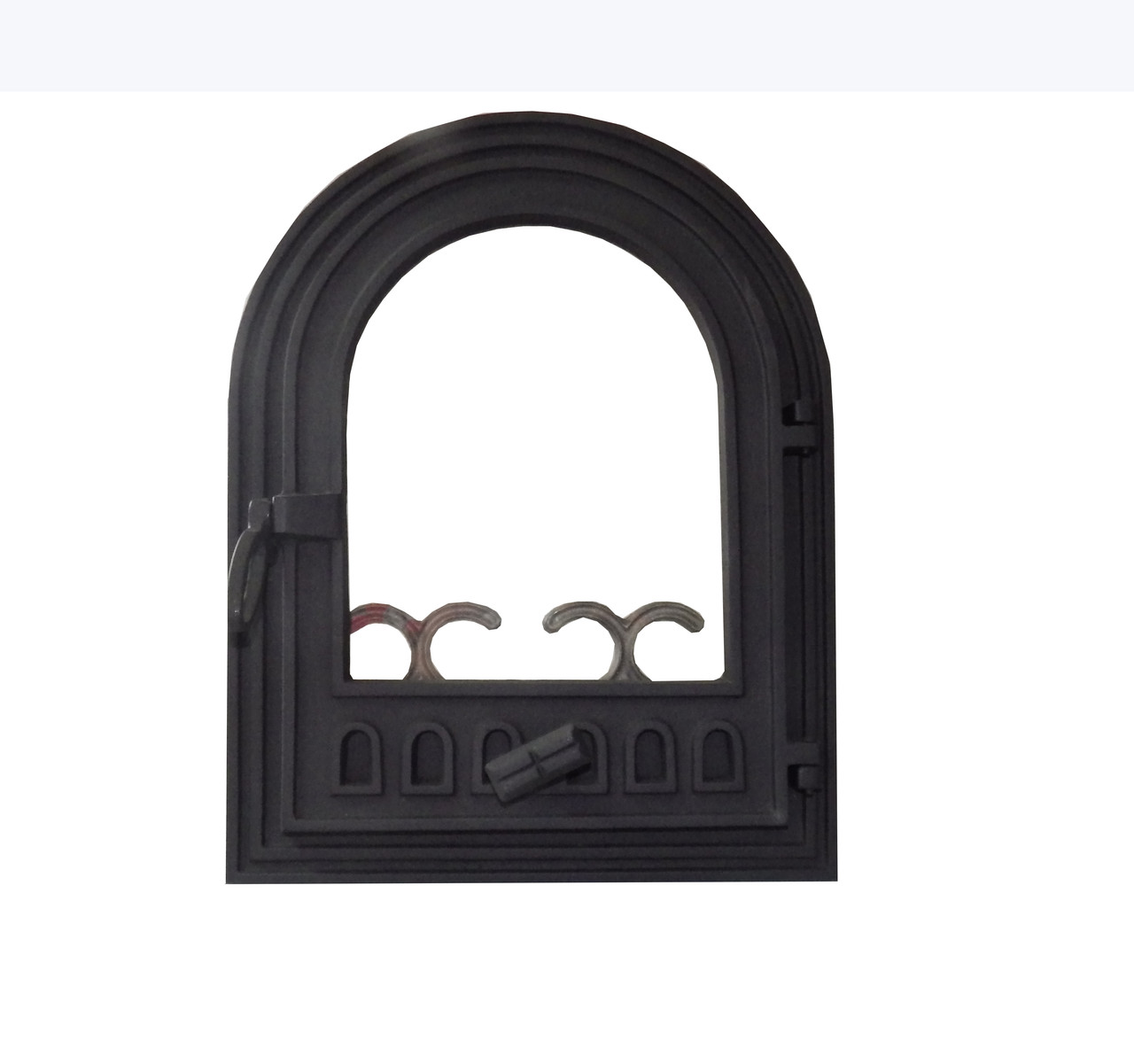 Дверца для камина со стеклом - VVK 36 х 46 см/30х39см