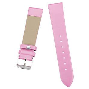 Ремінець для годинника гладкий рожевий (20 мм), фото 2