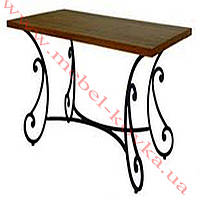 Кованый стол под прямоугольную столешницу 66