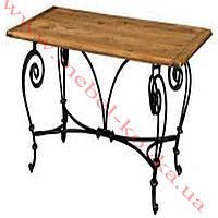 Кованый стол под прямоугольную столешницу 67