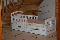 Подростковая кровать Карина-Комби с прикрытием ящиков