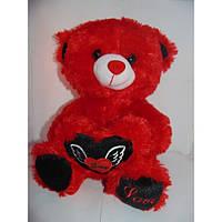 """Медвежонок плюшевый """"Love"""", мишка с сердцем, подарок для любимой, подарок на день влюбленных, мягкие игрушка"""