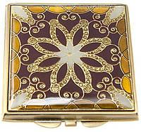 Красивое карманное косметическое зеркальце LEIF LOWE 422933AB