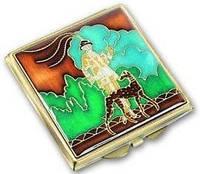 Оригинальное карманное косметическое зеркальце LEIF LOWE 423852AB