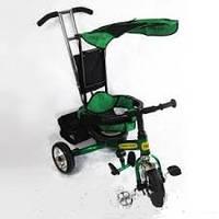 Детский велосипед трехколесный ЗЕЛЕНЫЙ lexus combi trike BT-CT-0001