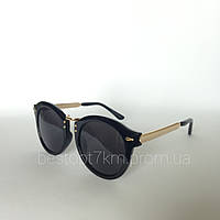 Женские солнцезащитные очки Kaizi  1830 с 48 черные