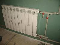 Установка радиаторов (батарей)