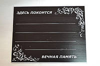 Табличка ПВХ