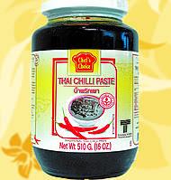 Паста чили, Тайская , CHEF'S CHOICE, 510 гр, Gf