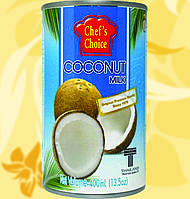 Молоко Кокосовое, CHEF'S CHOICE, 400мл, 18%, Gf