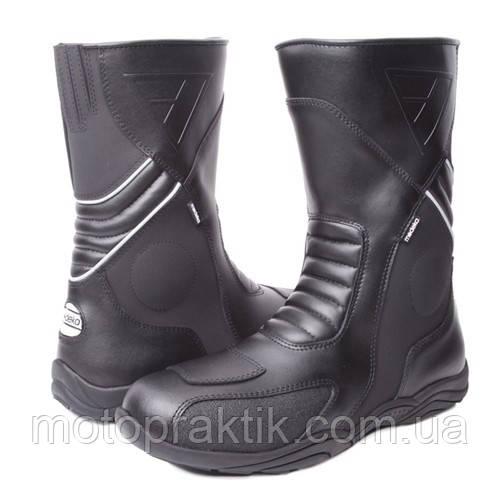 Modeka Assen Boots Black, EU37 Мотоботы дорожные с защитой