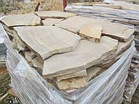 Песчаник желто-коричневый 10мм, купить Киев