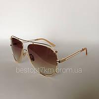 Женские солнцезащитные очки Kaizi 1869 с 101 коричневые