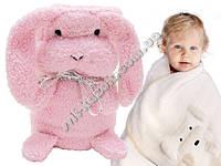 Плюшевая мягкая игрушка- полотенце- плед ZA0724